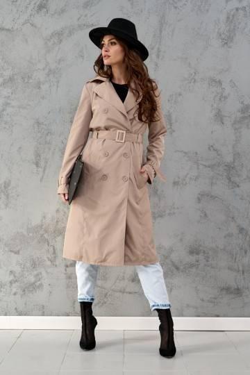 Płaszcz 0022 BEJ