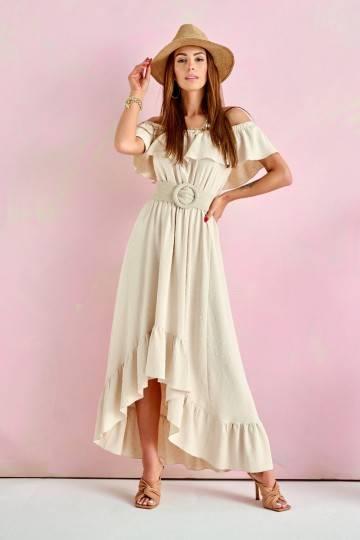 Dress 0334 BEJ