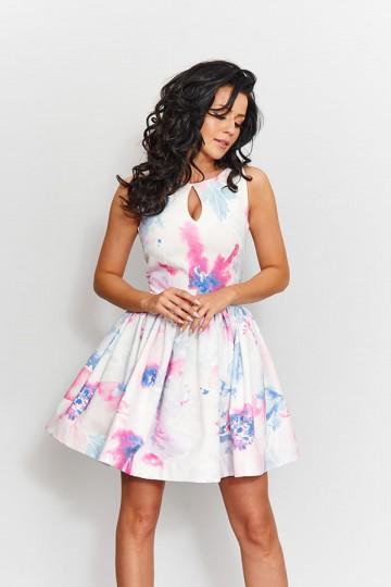 Sukienka 0203 EKR