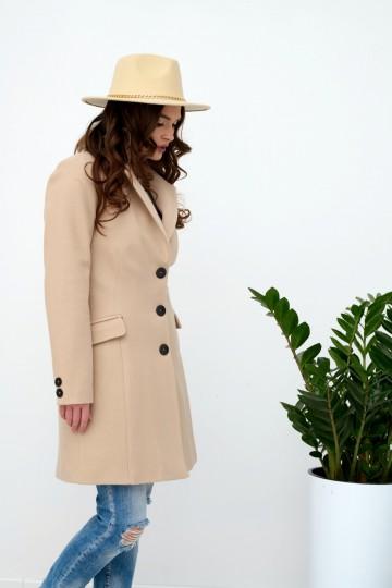 Płaszcz 0021 BEJ