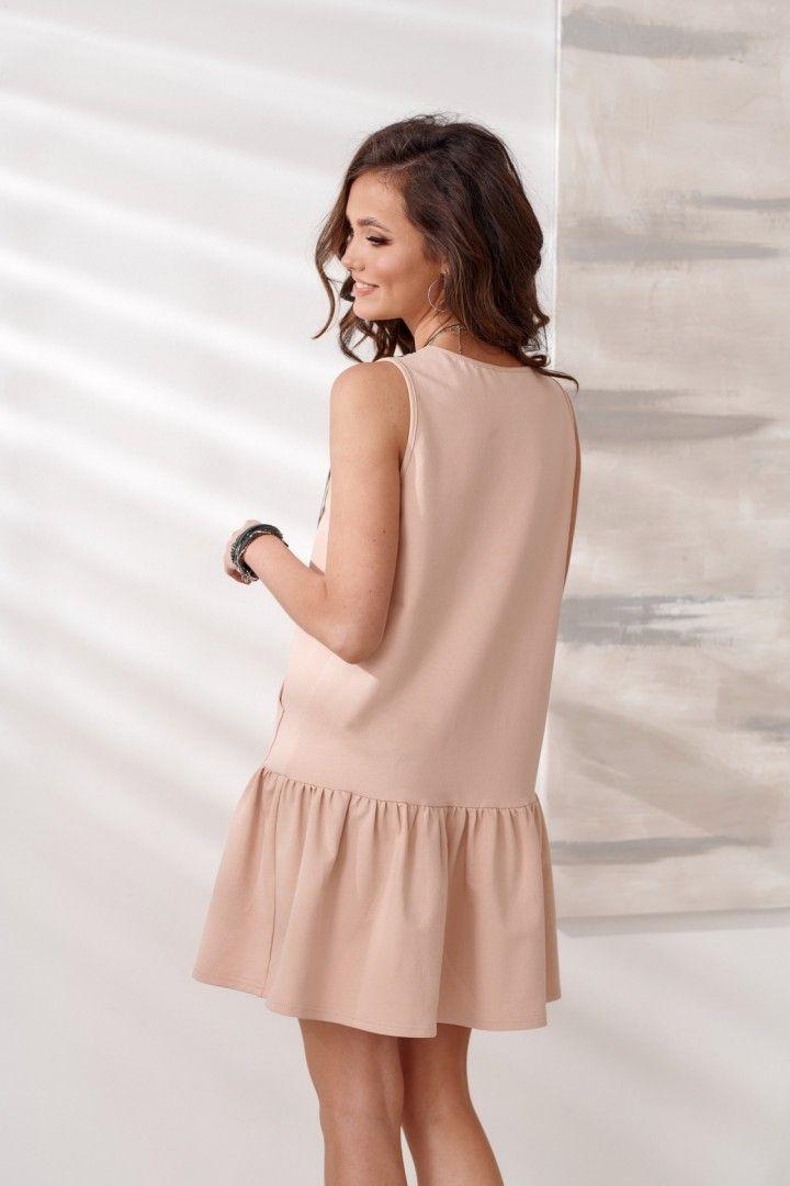 Sukienka 0289 BEZ
