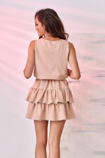 Sukienka 0293 BEZ